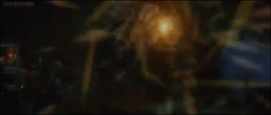 Orga fires energy blast