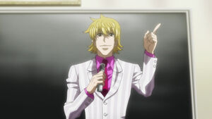 Pariston waiting for Gon