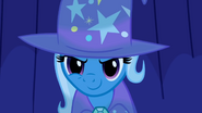 Trixie grinning