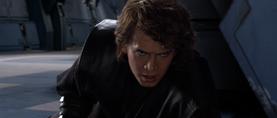 Anakin angered