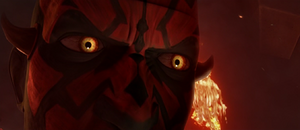 Darth Maul unsured