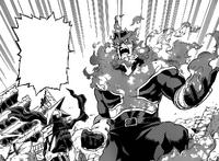 Endeavor and Edgeshot manga