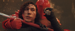 Kylo defeats the last guard