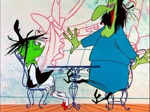 Looney Tunes - Broom-Stick Bunny