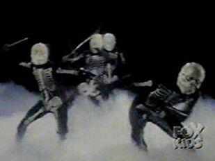MMPR skeletonwarriors