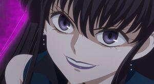 Mistress 9 evil grin
