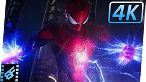 Spider-Man vs Electro Final Fight The Amazing Spider-Man 2 (2014) Movie Clip