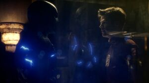 Zoom holds Barry captive