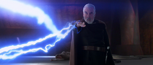 Darth Tyranus electricity