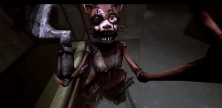 Five Nights at Freddy s New Generation Death Scene Foxy HD YouTube