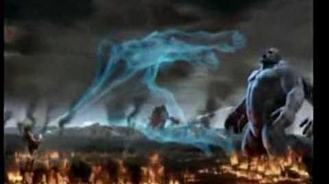 God of War 2 (ALL Titans VS Zeus)