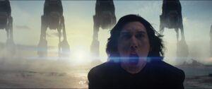 Kylo screams