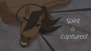 Spirit Stallion Of The Cimarron - Spirit is captured (HD)