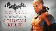 Batman Return to Arkham – Arkham City – Cold Call Killer