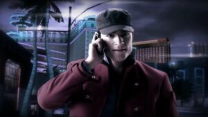 Darius receiving the call about Nikki