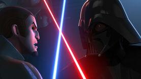 Darth Vader dueling 48