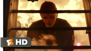 Halloween (2018) - Burned Alive Scene (10 10) Movieclips