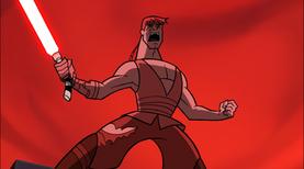 Anakin screams