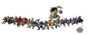 Evil warriors for 30th by granamir30-d4jubon