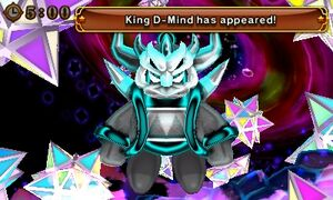 King D-Mind appears