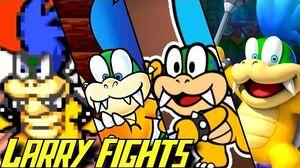 Evolution of Larry Koopa Battles (1988-2017)