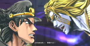 HAD faces Jotaro