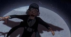 Professor ScrewEyes' despair and later death