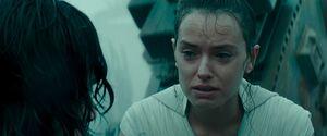 Rey's love confession to Ben