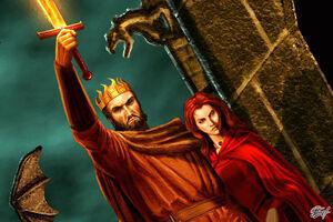 Stannis Melisandre Lightbringer