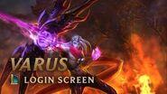 Varus, the Arrow of Retribution Login Screen - League of Legends