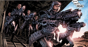 Atlas Foundation, Soldiers (Agents of Atlas Vol 2 10)