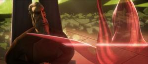 Count Dooku questions Talzin