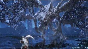 Dark Souls 3 Ringed City Darkeater Midir Boss Fight (4K 60fps)