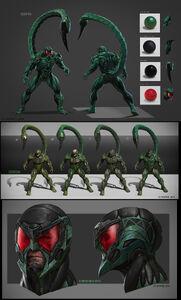 Scorpion from MSM concept art