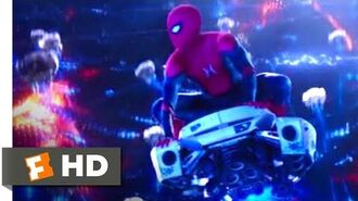 Spider-Man Far From Home (2019) - Inside Mysterio's Illusion Scene (8 10) Movieclips