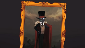 Black Hat's portrait