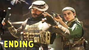 Call of Duty Modern Warfare 2019 ENDING & Post Credit Scene (ALL CHOICES) (COD MW 2019)