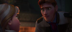 Hans realizing
