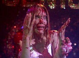 Sissy Spacek as Carrie White, 1976