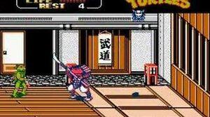 Teenage Mutant Ninja Turtles 2 - Boss 7 Shogun-0