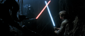 Vader Dagobah duel