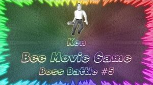 Bee Movie Game ★ Perfect Boss Battle 5 • Ken