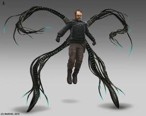 Doctor Octopus from MSM concept art
