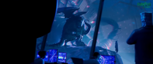 Green Goblin holding Spider-Man down