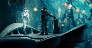 Zod destroys Jor-El AI