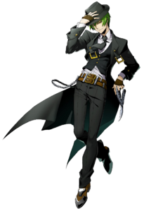 Hazama (BlazBlue Cross Tag Battle, Character Select Artwork)