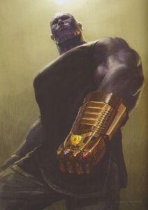 Infinity Gauntlet concept art 7