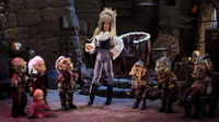 Jareth and his goblins in Robot Chicken