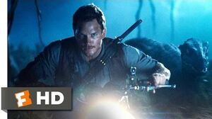 Jurassic World (2015) - Raptor Recon Scene (5 10) Movieclips