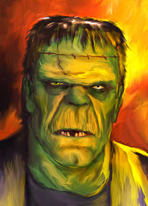 Mark Spears Monsters 'Frankenstein Monster' by Markman777